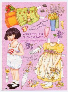 Mary Engelbreit Paper Doll, Ann Estelle's  via Etsy.