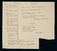 manoscritti poesie ungaretti -
