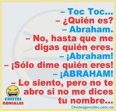 Funny Spanish Jokes, Funny Baby Jokes, Spanish Humor, Dad Jokes, Stupid Funny Memes, Funny Facts, Funny Babies, Funny Quotes, Pepito Jokes