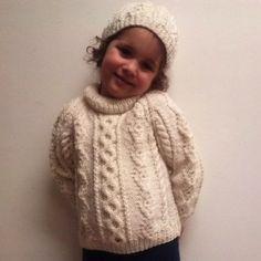74051662c Donal child s traditional aran sweater PDF knitting pattern