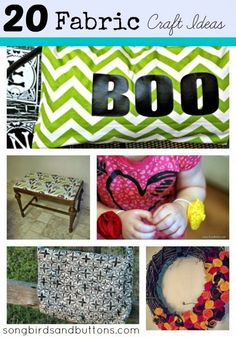 Fun and Creative Fabric Craft Ideas - Kendall Rayburn Blog