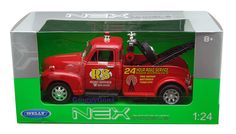 1:24 WELLY NEX MODELS - 1953 CHEVROLET TOW TRUCK - RED * NIB #Welly #Chevrolet