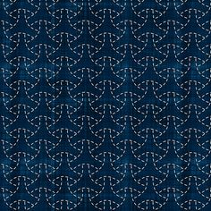 Sashiko: Maru-bishamon - Turtle shell fabric by bonnie_phantasm on Spoonflower - custom fabric