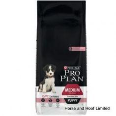 Pro Plan Medium Puppy Sensitive сухой корм для щенков средних пород с чувствительной кожей (с лососем и рисом)