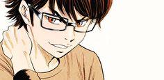 Miyuki Kazuya #animecrush frick I put my hand like that sometimes T.T