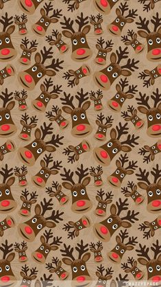 holiday wallpapers for iphone reindeer wallpaper iphone Noel Christmas, Christmas Paper, Winter Christmas, Christmas Cards, Christmas Decor, Christmas Wreaths, Christmas Phone Wallpaper, Holiday Wallpaper, Thanksgiving Iphone Wallpaper