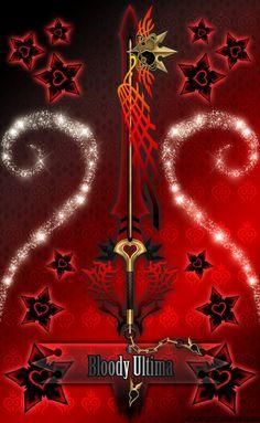 Keyblade Bloody Ultima by Marduk-Kurios on DeviantArt