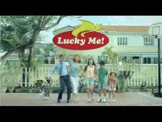 """Promotional Strategies: Lucky Me! Happy We """"Together"""" TV Commercial Happy We, Sub Brands, Brand Management, Name Logo, Tv Commercials, Brand Names, Noodles, Film, Macaroni"""