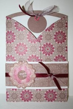 Beate's tri-fold card tutorial by Marykay2u2 - Cards and Paper Crafts at Splitcoaststampers