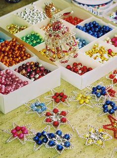 All That Glitters – Hand Made Christmas Ornaments –