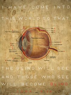 The Blind Will See by Michael Morales, via Behance