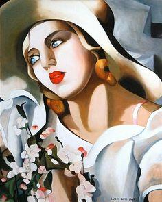 Paintings of Spring: Tamara de Lempicka(16 mai 1898 – 18 martie 1980), pictoriţă poloneză(I)