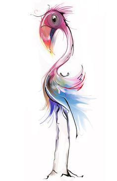 flamingo - tatiana-teni