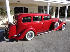 1935 Buick 90L Limo Maroon