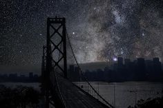 'Darkened Cities' by Thierry Cohen: Amazing Night Skies Imagined (Gallery) | Space.com San Francisco