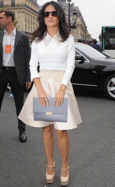 Image result for salma hayek business attire