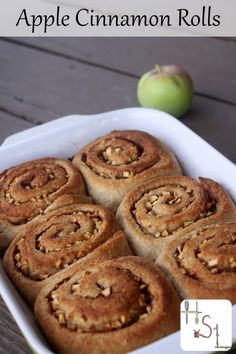 Make the most of fresh, seasonal fruit in these light and flavorful apple cinnamon rolls that are sure to delight everyone at the breakfast table.