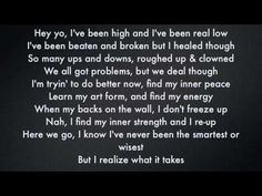 Classified Inner Ninja ft.David Myles lyrics                                            I LOVE THIS SONG !!!!!!!!!!!!!
