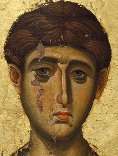 Pray to God for us, Holy martyr Demetrios, as we fight against our passions, and sin! Byzantine Icons, Byzantine Art, Religious Icons, Religious Art, Face Icon, Religious Paintings, Christian Religions, Best Icons, High Art
