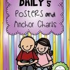 I hope you enjoy this 39 page Daily 5 freebie.  You will find illustrated posters and anchor charts to hang up in your classroom to remind your stu...