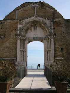 old church on the sea , Vasto, Abruzzo, Italy