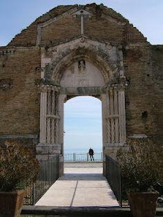 old church on the sea , Vasto, Abruzzo, Italy