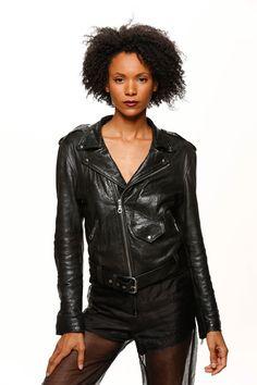 Naz&Court Sustainable. Ethical. Made in LA. www.nazandcourt.com  Leather Jacket