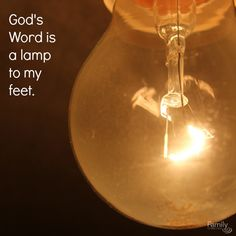 Oh Father, may Your word be a lamp for our feet today, a light for our paths. Amen. Psalm 119:105