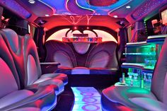 Birthday limo.