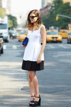 Eleonora Carisi wearing RAOUL Cruise 14 dress in NY! @RAOUL @Eleonora Carisi