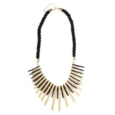One of my absolute favorites from my Successfully Simone' Collection!! Any statement you're trying to make gets amplified with this right-on-the-money accent necklace.  #Jewelry #WomensFashion