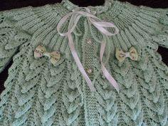 Mimos da vovó: casaquinho de tricô