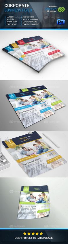 Corporate Business Flyer - http://www.codegrape.com/item/corporate-business-flyer/7648