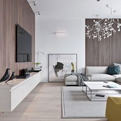 Minimalist living room is completely important for your home. Because in the living room every the events will starts in your pretty home. locatethe elegance and crisp straight Best Minimalist Living Room Design. Living Room Modern, Home Living Room, Interior Design Living Room, Modern Contemporary Living Room, Small Living, Apartment Living, Contemporary Style, Contemporary Chandelier, Modern Tv Room