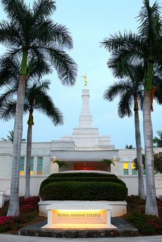 Kona Hawaii temple. I want to go there at least once a week.