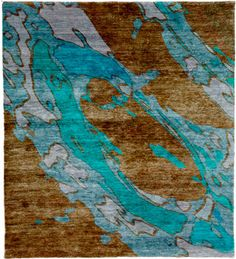 Calca Highland Hand Knotted Tibetan Rug [humanely sheered wool version]