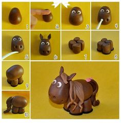 Follow these simple steps to recreate this adorable horse.