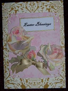 Anna Griffin Easter card