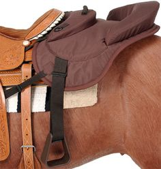 Tough-1 Ride Behind Saddle Tandem Seat | ChickSaddlery.com