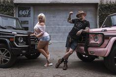 Trisha Paytas & Daniel Sheehan. G WAGON