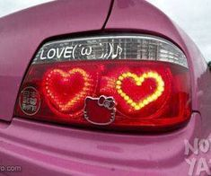 Image about pink in Sanrio by Madeline on We Heart It Pretty In Pink, Pretty Cars, Cute Cars, Wallpaper Makeup, Dream Cars, Valentine Love, Arte Lowrider, Car Mods, Honda Element