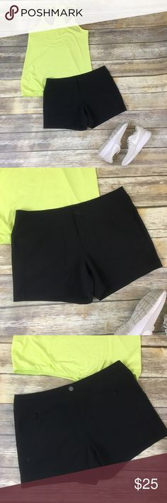 Athleta Costa Shorts APPROX. FLAT LAY MEASUREMENTS Waist: 16 inches (32 all around)  Inseam: 4 inches Rise: 9 inches  Leg opening: 11.5 inches (23 all around)  Total length of shorts from top to bottom: 12.5 inches Athleta Shorts