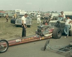 Connie Kalitta Bounty Hunter at Indy in 1967