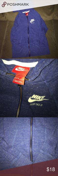 Girls Nike Gym Vintage Hoodie Size Medium Excellent condition. No flaws . Girls size medium 10-12. Fits true to size. Lowest offer is the price listed. No trades or Mercari. Color is true to picture. Price firm unless bundled. Nike Shirts & Tops Sweatshirts & Hoodies