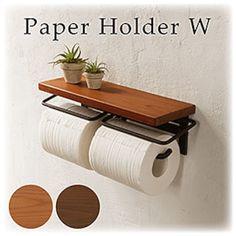 トイレットペ−パ−ホルダ− Toilet Paper, Home, Design, Toilet Ideas, Bathroom Ideas, Bathrooms, Gadgets, Decorations, Decorative Objects