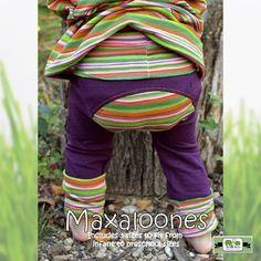 Maxaloones Sewing Pants Pattern by Max & Meena