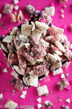 Chocolate Raspberry & Cream Muddie Buddies