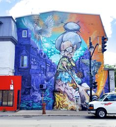One of the most famous street art festivals in Montreal has just came to an end leaving us the stunning collection of artworks, created by innovative artists. This year the Mural Festival 2016 bursted out with a lot of famous street artists like Buff Monster, Meggs, Felipe Pantone and many more who …