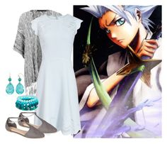 """Toshiro Hitsugaya"" by myamane ❤ liked on Polyvore featuring ONLY, Journee Collection, anime, iceblue, bleach and ToshiroHitsugaya"
