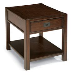 "Sonoma  End Table    Model 6625-01  24""H x 22""W x 27""D"
